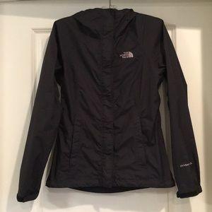 The North Face Rain Jacket, TNF Black, XS